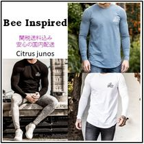 Bee Inspired Clothing Crew Neck Street Style Long Sleeves Plain