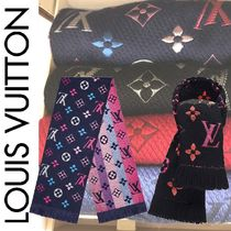 Louis Vuitton MONOGRAM Monogram Wool Blended Fabrics Bi-color