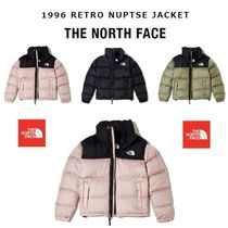 THE NORTH FACE Nuptse Casual Style Street Style Medium Down Jackets
