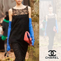 CHANEL Blended Fabrics Street Style Plain Leather Home Party Ideas