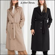 & Other Stories Casual Style Plain Long Chester Coats
