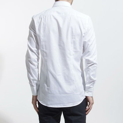 Hugo Boss Shirts Long Sleeves Cotton Shirts 2