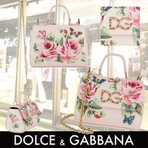 Dolce & Gabbana Chain With Jewels Kids Girl Bags
