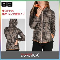 DUVETICA Short Camouflage Street Style Down Jackets