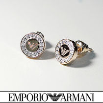 EMPORIO ARMANI Casual Style Silver Earrings & Piercings
