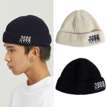 ROMANTIC CROWN Unisex Street Style Knit Hats