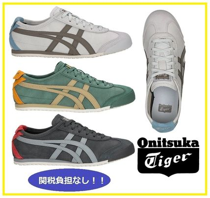 separation shoes 192e6 758a9 Onitsuka Tiger 2018-19AW Unisex Street Style Plain Sneakers (1183A148)