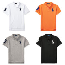Ralph Lauren Unisex Collaboration Kids Boy Tops