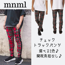 MNML Tapered Pants Other Check Patterns Street Style