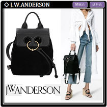 J W ANDERSON Pierce Casual Style Suede 2WAY Backpacks