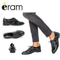 eram Flower Patterns Casual Style Other Animal Patterns Leather