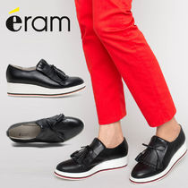 eram Casual Style Tassel Studded Leather Loafer & Moccasin Shoes