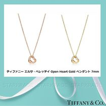 Tiffany & Co OPEN HEART 18K Gold Elegant Style Fine