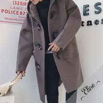 Plain Long Oversized Duffle Coats