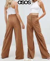 ASOS Casual Style Corduroy Plain Long Pants