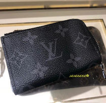 Louis Vuitton MONOGRAM Monogram Blended Fabrics Leather Special Edition Coin Cases