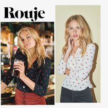Rouje Casual Style Long Sleeves Shirts & Blouses