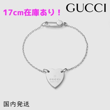 GUCCI Heart Bracelet With Gucci Trademark