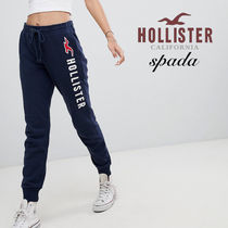 Hollister Co. Casual Style Sweat Street Style Bi-color Sweatpants