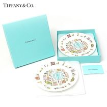 Tiffany & Co TIFFANY BOW Unisex Home Party Ideas Plates