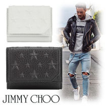 Jimmy Choo Street Style Leather Folding Wallets