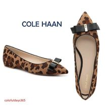 Cole Haan Leopard Patterns Pointed Toe Pumps & Mules