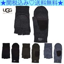 UGG Australia Wool Blended Fabrics Plain Gloves Gloves