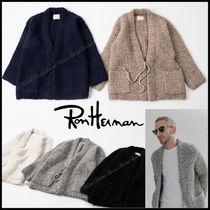 Ron Herman Collaboration Long Sleeves Plain Cardigans