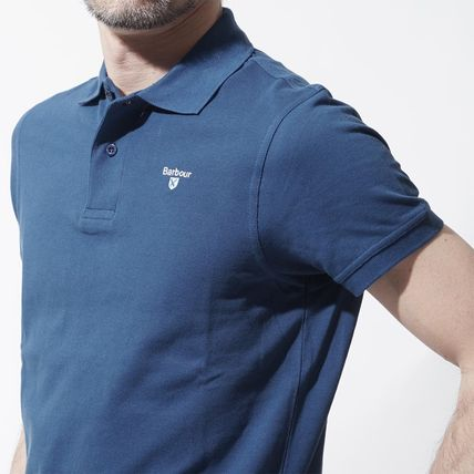 Barbour Polos Cotton Short Sleeves Polos 4