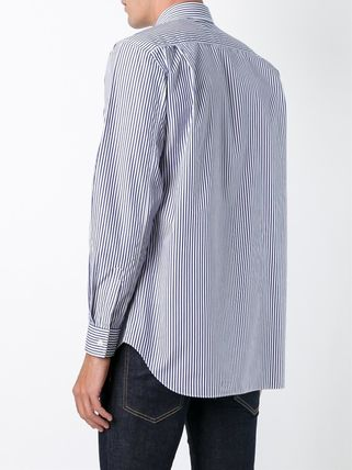 COMME des GARCONS Shirts Stripes Heart Street Style Long Sleeves Shirts 7