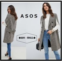 ASOS Other Check Patterns Casual Style Ponchos & Capes