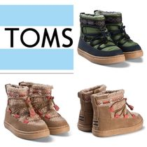 TOMS Kids Girl Boots