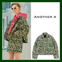 ANOTHER A Leopard Patterns Casual Style Medium Jackets