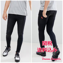 11 Degrees Denim Street Style Plain Skinny Fit Jeans & Denim