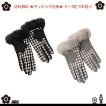 MARY QUANT Zigzag Office Style Smartphone Use Gloves