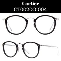 Cartier Unisex Round Optical Eyewear