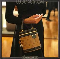 Louis Vuitton MONOGRAM Monogram Unisex Canvas Vanity Bags Bi-color Elegant Style