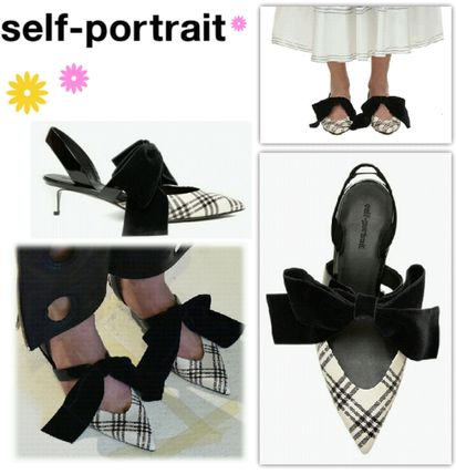 Other Check Patterns Party Style Sandals