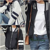 Short Stripes Varsity Jackets