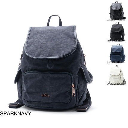 Casual Style Nylon Backpacks