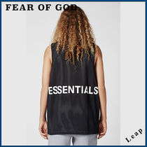 FEAR OF GOD ESSENTIALS Street Style Collaboration Plain Tanks