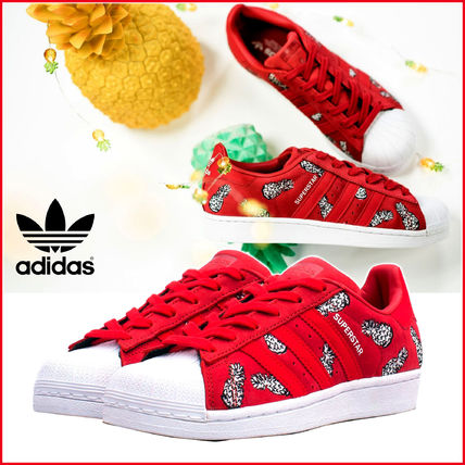 more photos 765e1 2152c adidas SUPERSTAR 2018-19AW Tropical Patterns Unisex Street Style  Collaboration (B28040)