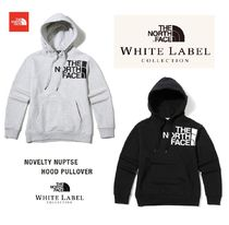 THE NORTH FACE Pullovers Unisex Long Sleeves Plain Cotton Hoodies