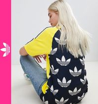 adidas Casual Style Street Style Short Sleeves Tops