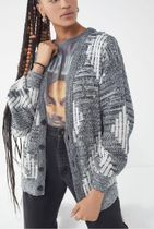 Urban Outfitters Cable Knit Casual Style Blended Fabrics Long Sleeves Long