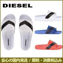 DIESEL Plain Shower Shoes PVC Clothing Shower Sandals