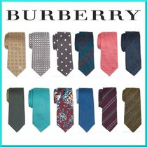 Burberry Stripes Dots Silk Ties