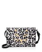 Charlotte Olympia Saffiano 2WAY Plain Other Animal Patterns Shoulder Bags