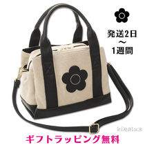 MARY QUANT Flower Patterns Casual Style 2WAY Shoulder Bags