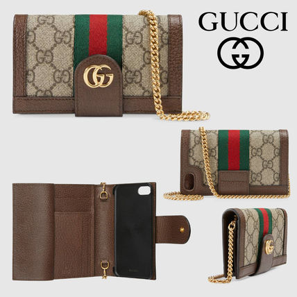 7dfc77f7a05deb ... GUCCI Smart Phone Cases Monogram Leather Smart Phone Cases ...